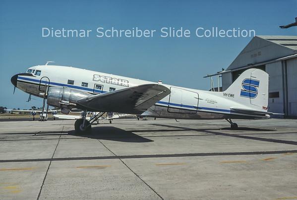 1980-02 VH-EWE Douglas DC3 Setair