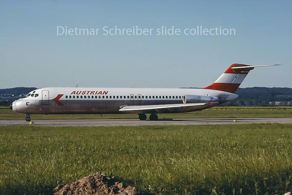 OE-LDC Douglas DC9-30 Austrian Airlines