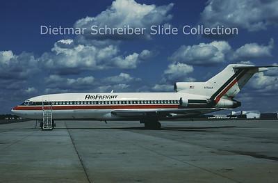 1988-08 N750UA Boeing 727-100 Spirit of America Airlines