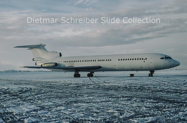 1985-12-30 9Q-CTD HS121 Trident ACS Air Charter Service