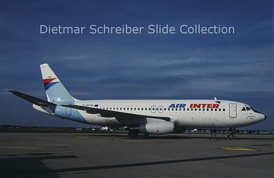 1992-01 F-BTTH Dassault Mercure Air Inter