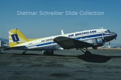 1982-10 VH-BPL Douglas DC3 Air Queensland