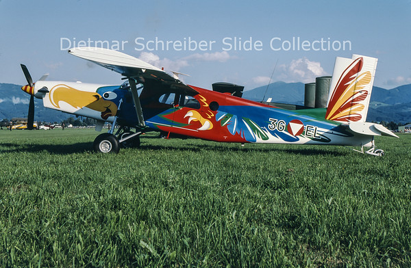 2000-07 3G-EL Pilatus PC6 Austrian Air Force
