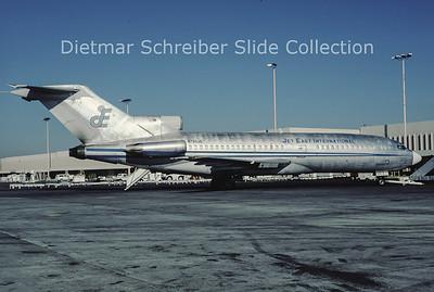 1988-12-27 N725JE Boeing 727-100 Jet East International