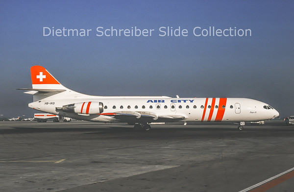 1989-12 HB-IKD Caravelle Air City