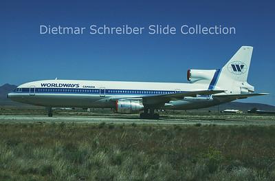 1993-05 C-GIES Lockheed L1011 Tristar Worldways Canada