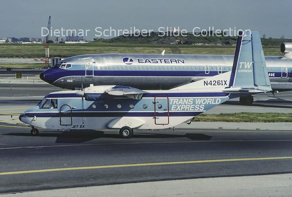 1989-09 N4261X Casa 212 Jet Express