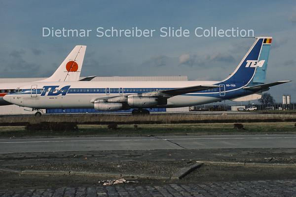 1985-02 OO-TED Boeing 707 TEA Trans European Airlines