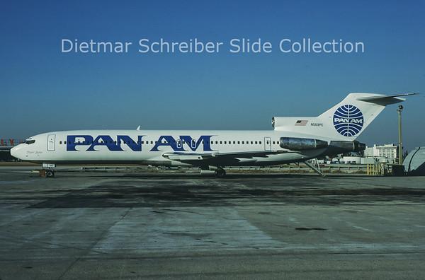 1988-12 N569PE Boeing 727-200 Pan American