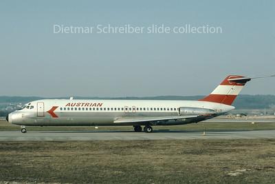 1976-04 OE-LDE Douglas DC9-30 Austrian Airlines