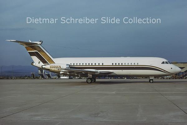 1978-07 N500CS BAC 1-11