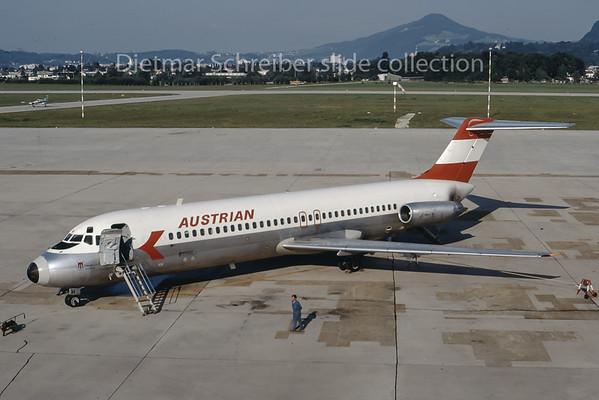 OE-LDH Douglas DC9-30 Austrian Airlines