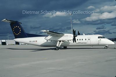 OE-LSB Dash DHC8-300 Rheintalflug
