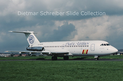 1989-04 G-AZUK BAC 1-11 Baltic Airlines
