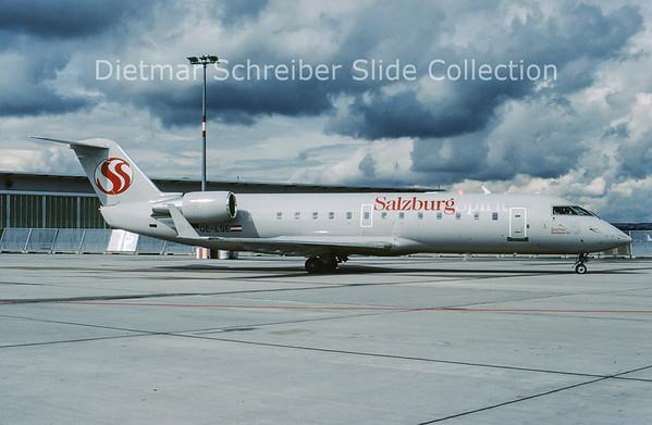 2005-07 OE-LSE Bombardier Regionaljet 200ER (c/n 7990) Salzburg Spirit