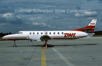 1988-07 OO-JPA Swearingen Merlin European Air Transport