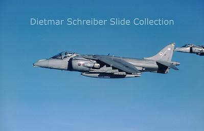 2002-04-12 ZD407 Hawker Siddeley AV8 Harrier Royal Air Force