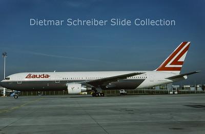 1993-08 OE-LAX Boeing 767-3Z9ER (c/n 27095) Lauda Air