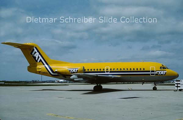F-GMOL Fokker 28 TAT European Airlines