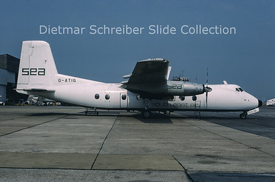 1988-05 G-ATIG Handley Page Herald South East Air