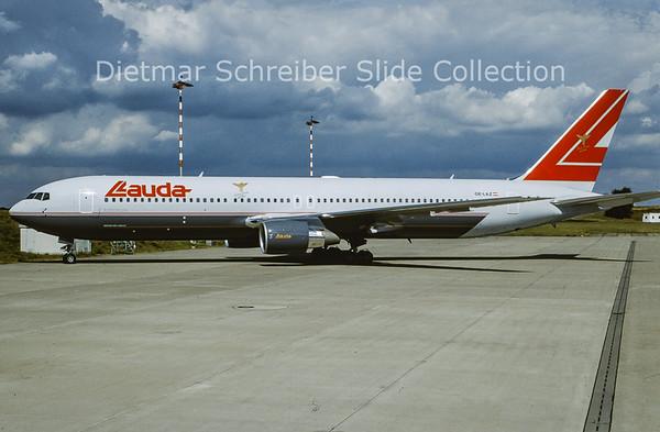 1999-08 OE-LAZ Boeing 767-3Z9ER (c/n 30331) Lauda Air