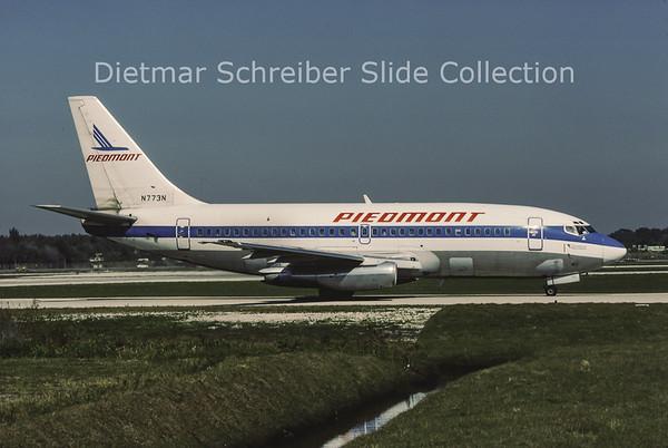 1986-01-24 N773N Boeing 737-201 (c/n 21818) Piedmont