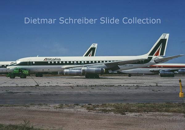 I-DIWV Douglas DC8-62H (c/n 45910) Alitalia
