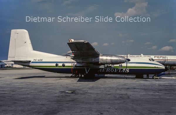 1989-05 TG-AZE Handley Page Herald Aerovias