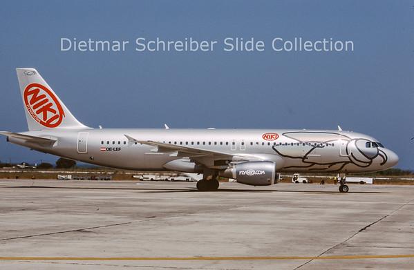 OE-LEF Airbus A320-214 (c/n 4368) Flyniki
