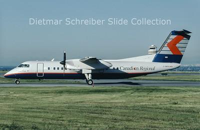 C-GMTA Dash DHC8-300 Canadian Regional