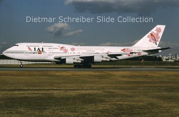 JA8186 Boeing 747-300 Japan Airlines