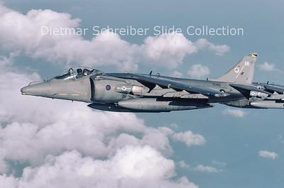 2003-10 ZD466 Hawker Siddeley AV8 Harrier Royal Air Force