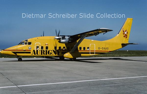 G-OAAS Shorts 360 Aurigny Air Service