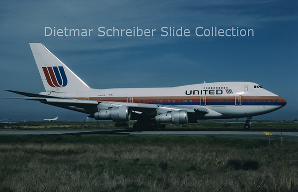 N142UA Boeing 747SP United Airlines