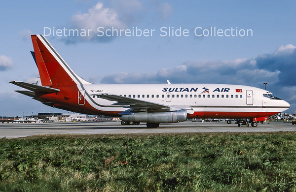 1991-11 TC-JUU Boeing 737-200 Sultan Air