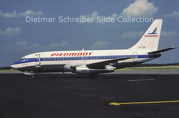 1981-06 N775N Boeing 737-2Q9 (c/n 21976) Piedmont