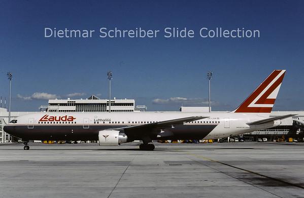 1994-06 OE-LAW Boeing 767-3Z9ER (c/n 26417) Lauda Air