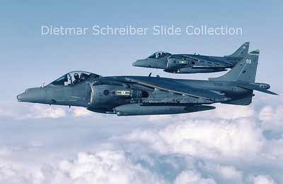 2003-09 ZD322 Hawker Siddeley AV8 Harrier Royal Air Force