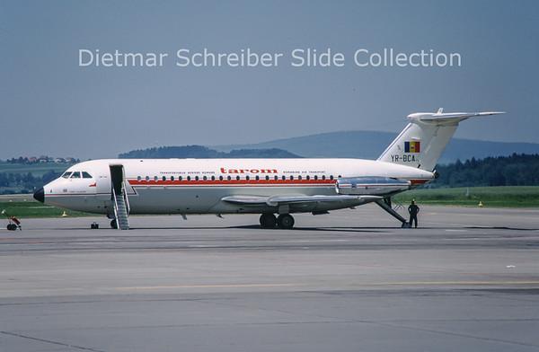 1968-07 YR-BCA BAC 1-11-424EU (c/n 130) Tarom