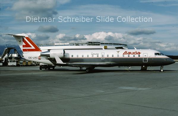OE-LRC Bombardier Regionaljet 100LR (c/n 7036) Lauda Air