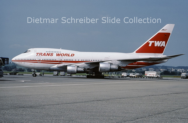 1986-07 N57203 Boeing 747SP Trans World Airlines