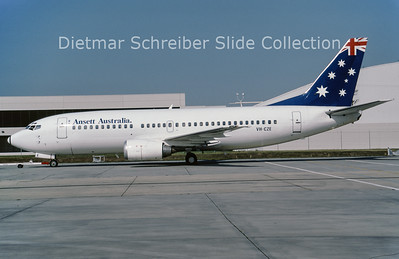 VH-CZE Boeing 737-377 (c/n 23657) Ansett Australia