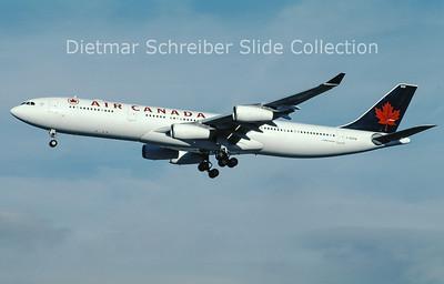 C-GDVW Airbus A340-313E (c/n 273) Air Canada