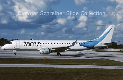 2010-11 HC-CEZ Embraer 190LR (c/n 19000027) TAME