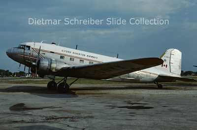 C-GWYX Douglas DC3 Ilford Riverton Airways