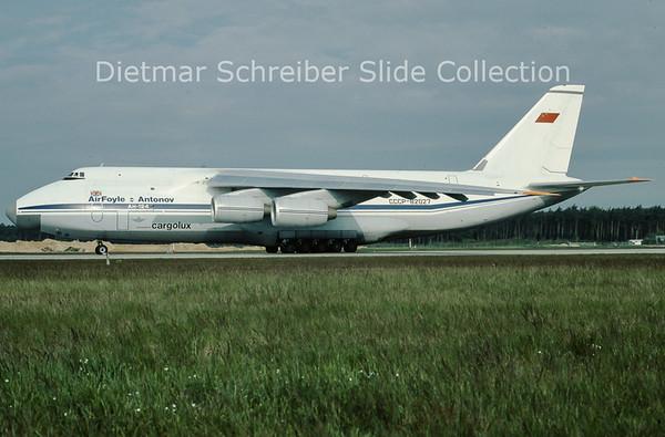 CCCP-82027  Antonov 124 Air Foyle