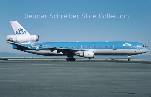 2011-04 PH-KCA MDD MD11 (c/n 48555) KLM Royal Dutch Airlines