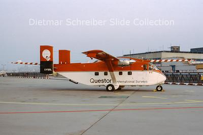 C-FQSL Shorts SC7 Skyvan Questor