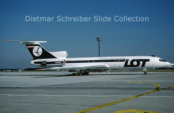 1990-07 SP-LCN Tupolev 154 LOT Polish Airlines