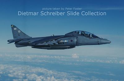 2000-10-12 ZH661 Hawker Siddeley Harrier T12 (c/n TX009) Royal Air Force